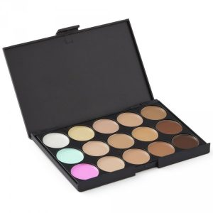 Colour Corrector Concealer Contour Makeup Palette -15 Colour