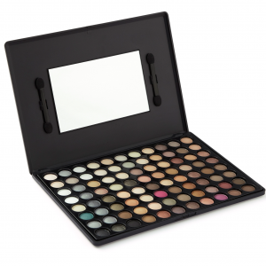 Natural Eyeshadow Palette with Mirror - LaRoc 88 Colour