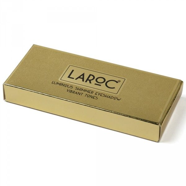 Glitter Eyeshadow Palette - Vibrant - LaRoc 9 Colour