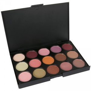 Shimmer Eyeshadow Palette - LaRoc - 15 Colours